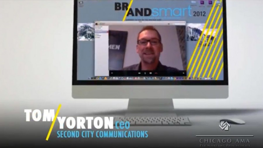 Tom Yorton at Brandsmart 2012